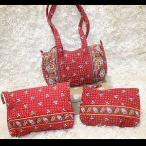 🛍2 lots for $27 RETIRED Vera Bradley Bags